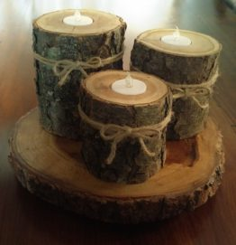 Cherry Candle Holders