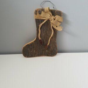Wood Stocking 2