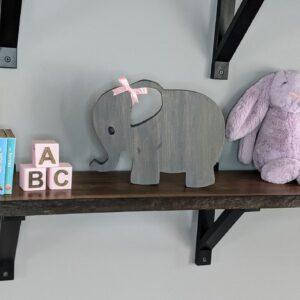 Girl Elephant Grey