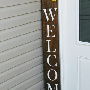 Welcome Sign Flower