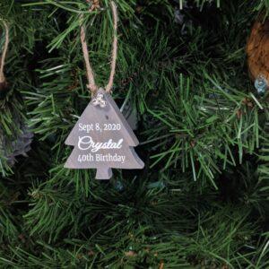 Tree Ornament Custom